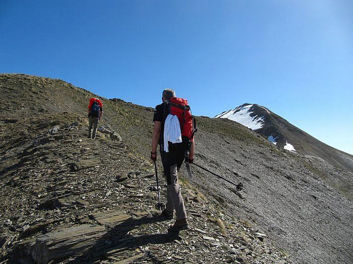 Verso il Monte Savi