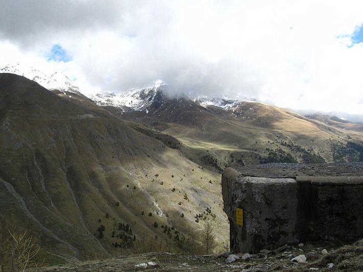 Parte della struttura del bunker