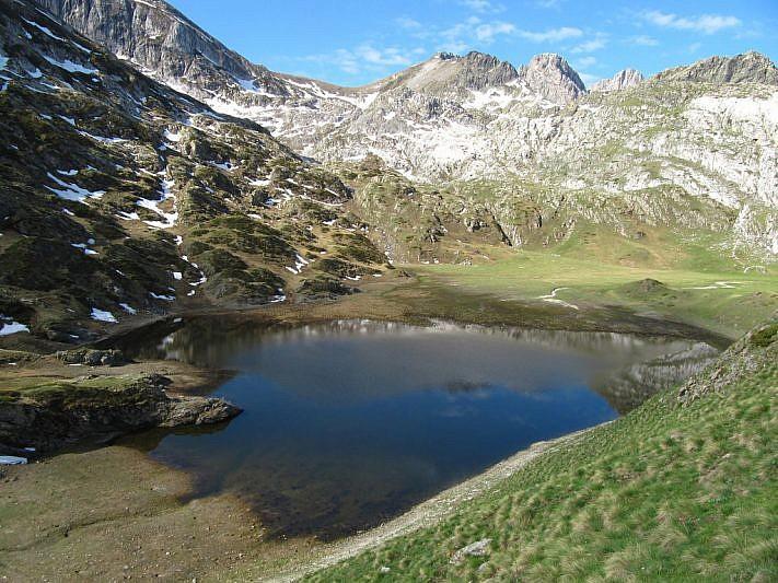 Il lago Biecai da una prospettiva inusuale