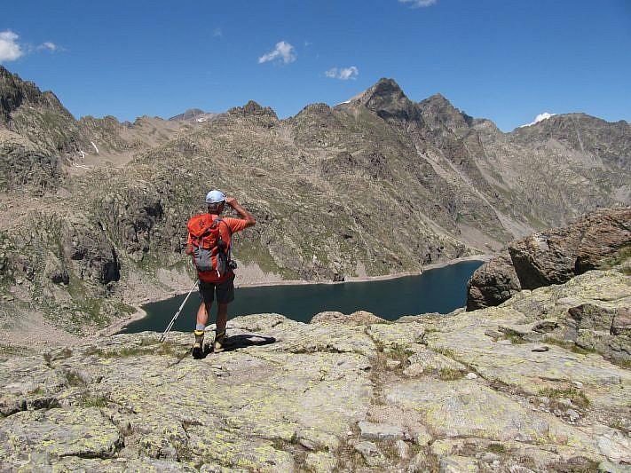 Ancora il Lac du Basto dalla Baisse de Fontanalba