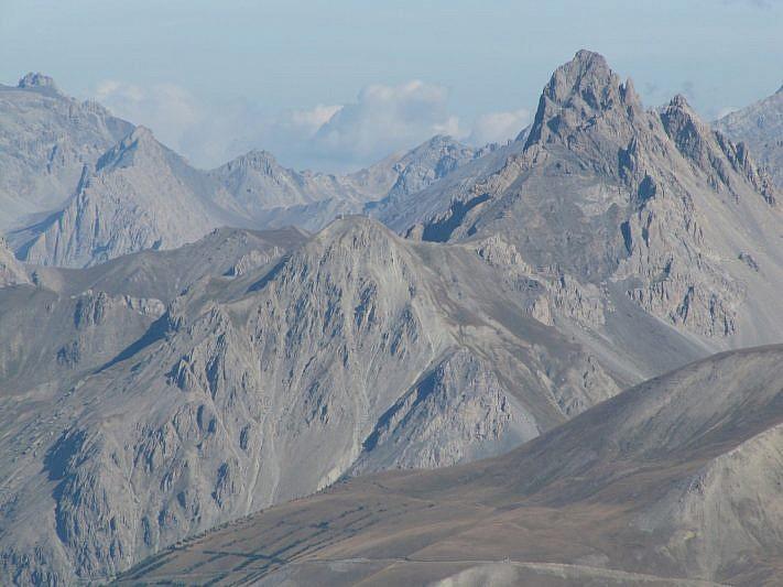Panorama sullaTête de Viraysse e sulla Meyna