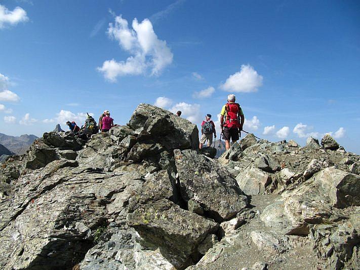 Sulla cima del Monte Pelvo