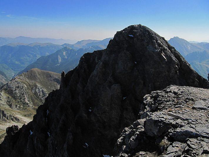La cima nord-est del Cassorso