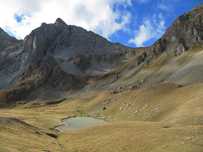 Il lago delle Munie inferiore