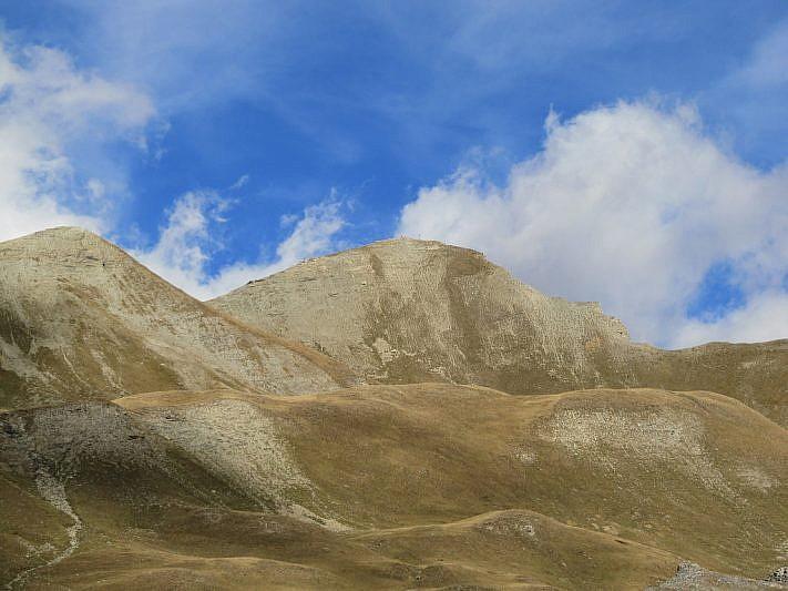 Al centro, il Monte Soubeyran