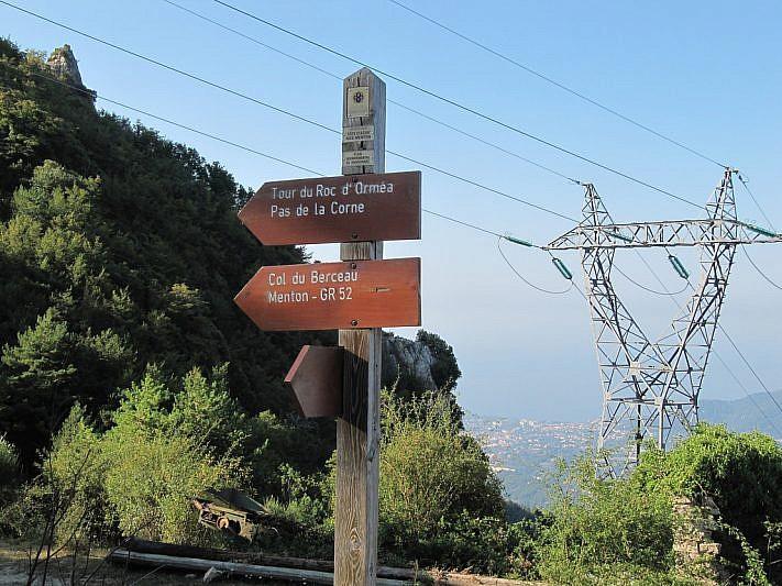 Indicazioni per il tour del Roc d'Orméa