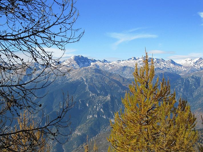 Sguardo verso il Monte Bego