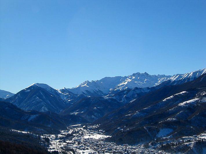 Sguardo verso le cime della Val Vermenagna