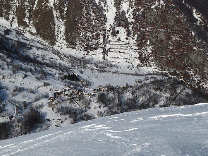 In basso, al centro della foto, Palanfrè