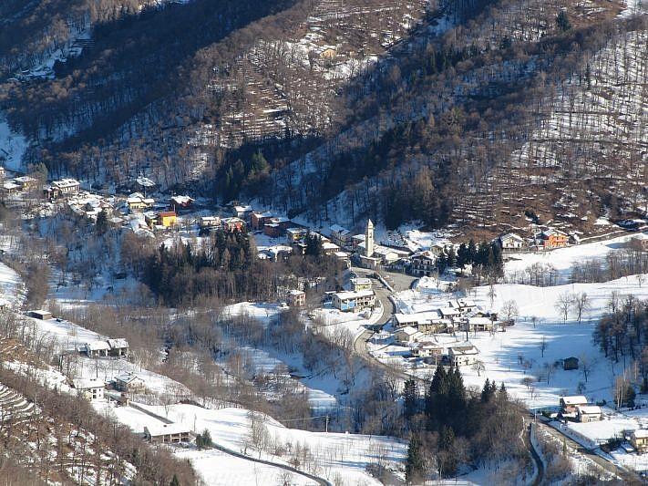 Zoom sulla sottostante frazione di Castellar