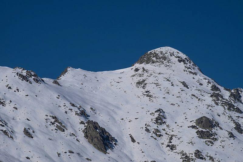 La cima della Besimauda (2231 m)