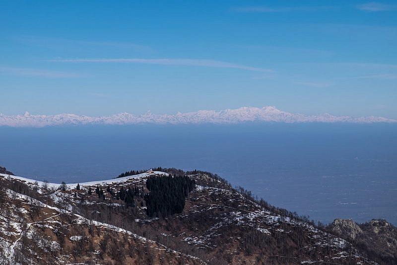 L'osservatorio posto sulla Sella Morteis