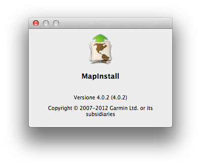 MapInstall OS X