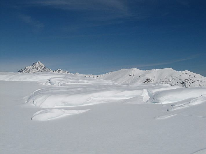 Giochi di vento e neve