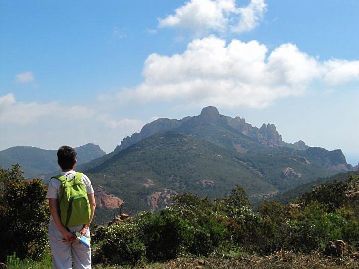 Sguardo verso il Pic du Cap Roux