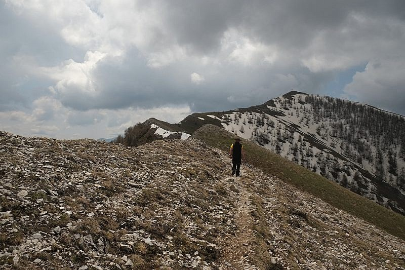 Al fondo la cima del Chajol