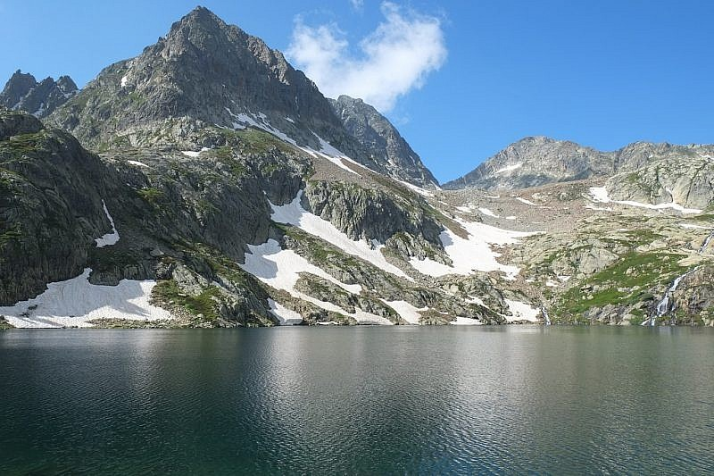 Il lago inferiore di Valscura