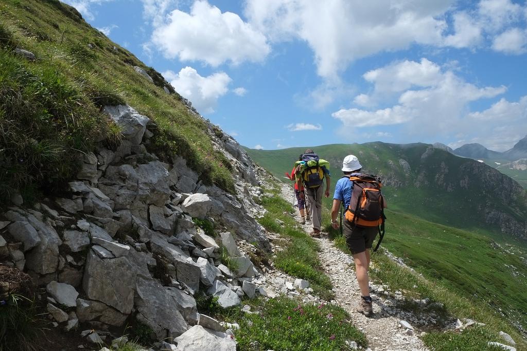 Dal sentiero dei Fiori, salita al Monte Omo