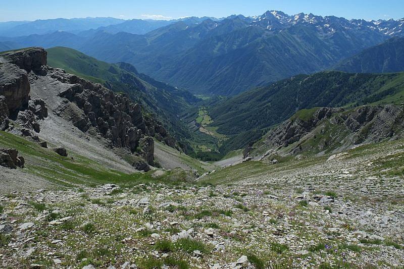 Veduta del vallone di Neraissa