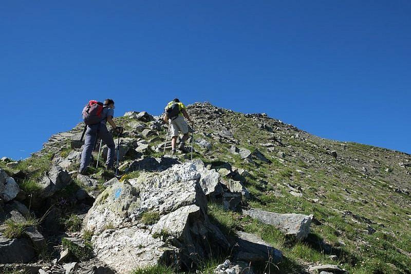 Verso la cima del Nebiùs