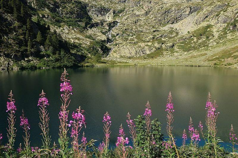 Ritorno al rifugio Livio Bianco e al lago Sottano della Sella