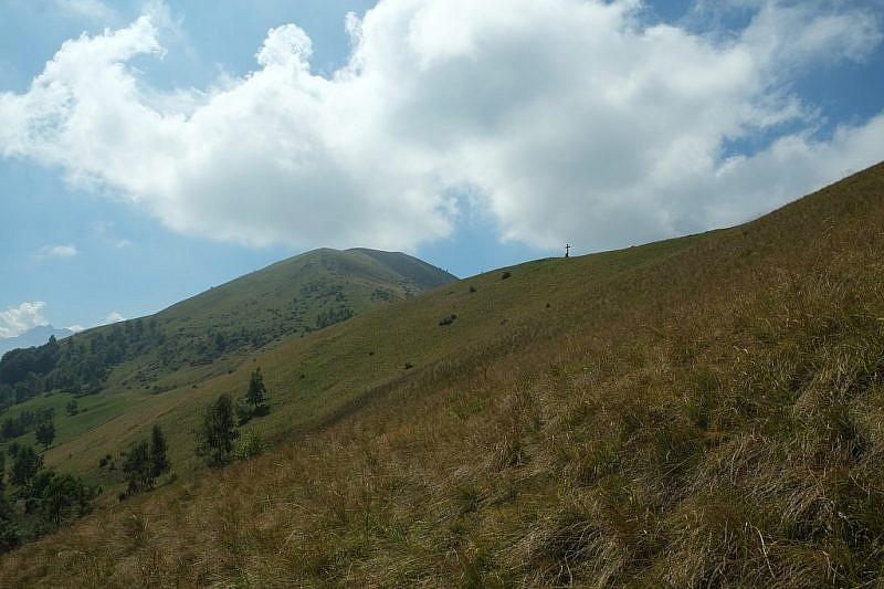 Ancora vedute dell'Alpe durante la discesa a valle