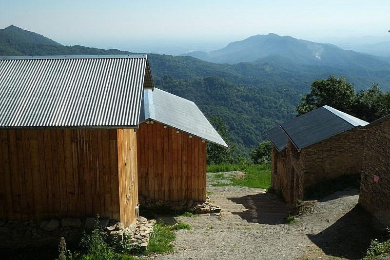 Tra le case e il museo della borgata di Paraloup