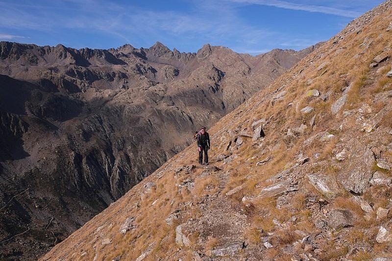Dalle pendici della Rocca di S.Bernolfo, vista sul Corborant