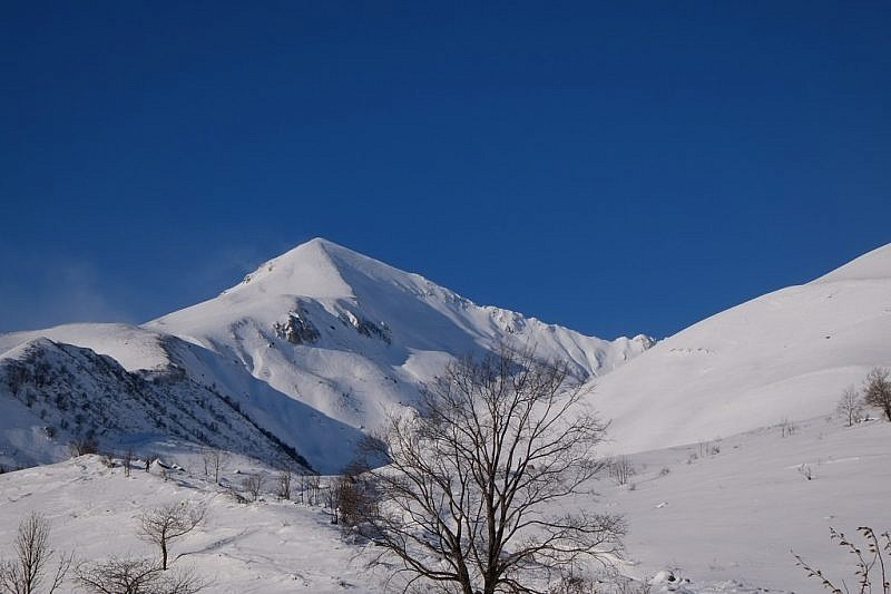 Cima che precede il Monte Ciamoussé