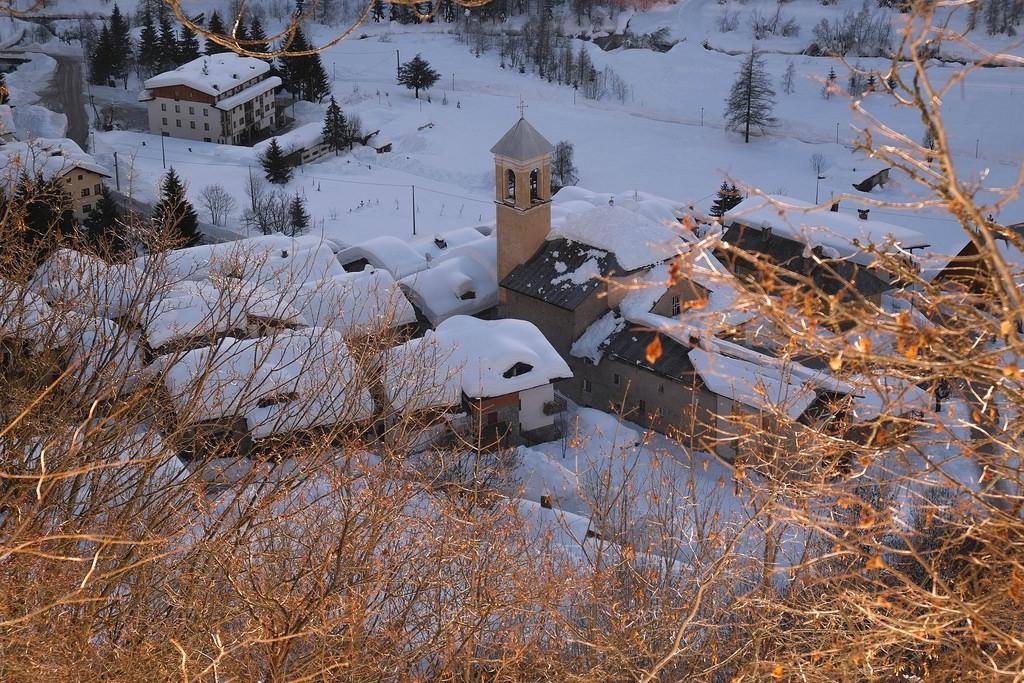 Con racchette da neve alla borgata luca 1584 m valle stura cuneotrekking - Alberghi bagni di vinadio ...