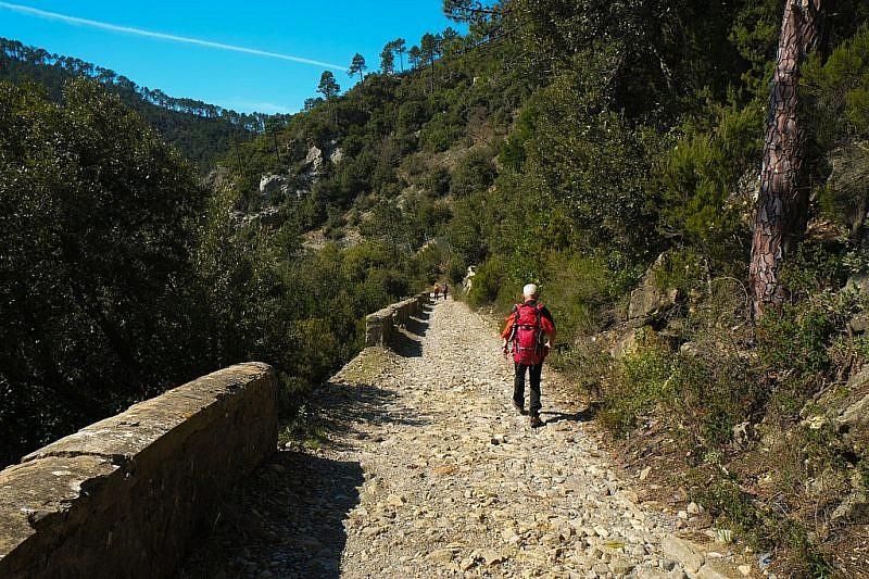 Nel tratto dell'alta via dei Monti Liguri