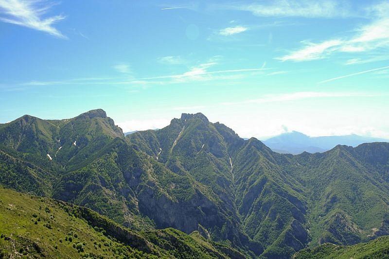Veduta sul Monte Toraggio