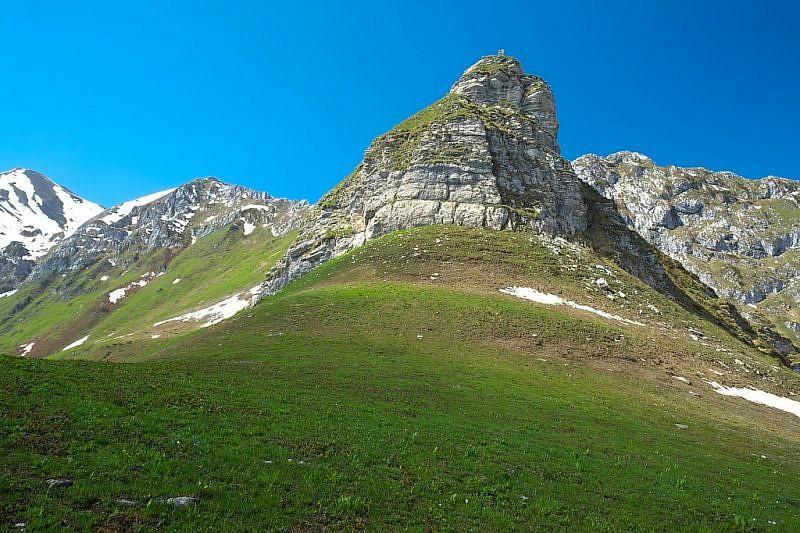 Monte Balur visto dal rifugio
