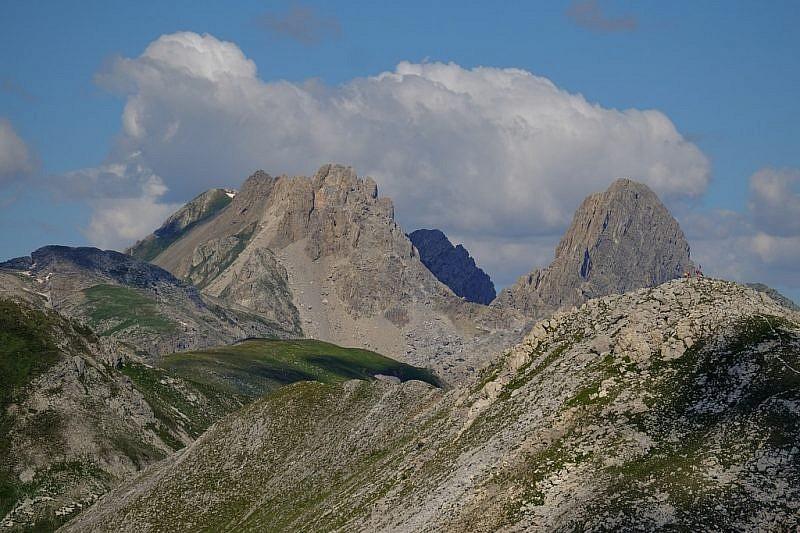 Zoom verso il Becco Grande e Rocca la Meja