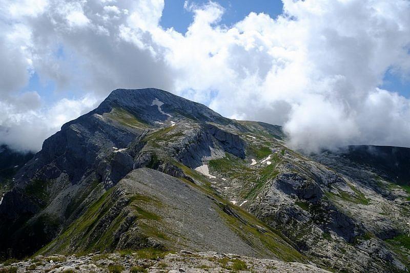 Veduta sul Monte Mongioie