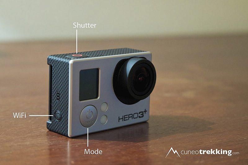 I pulsanti presenti sulle GoPro