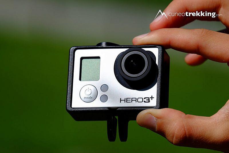 La GoPro Black solo con il Frame