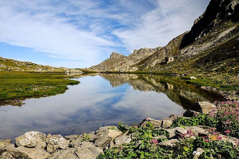 Panoramica sul lago della Vacca