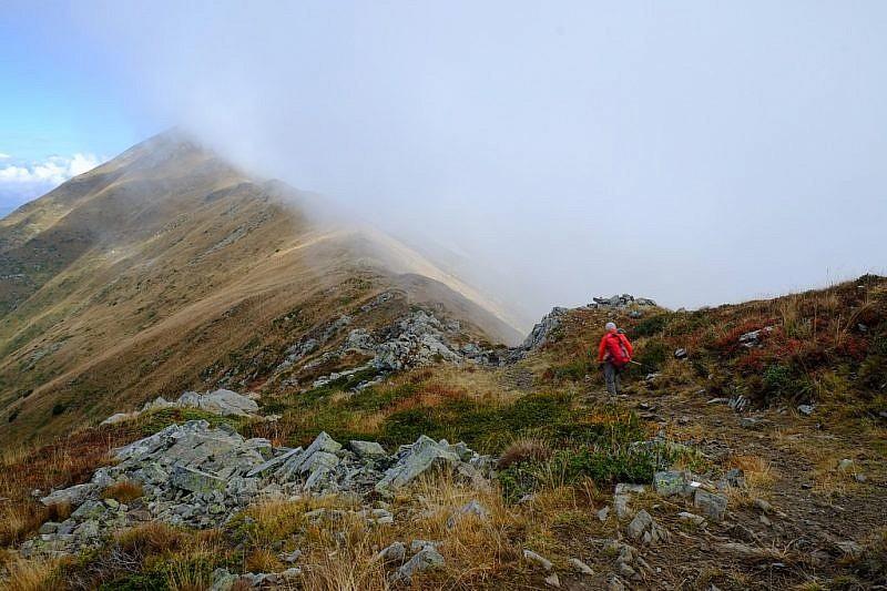 In cammino verso cima Pianard