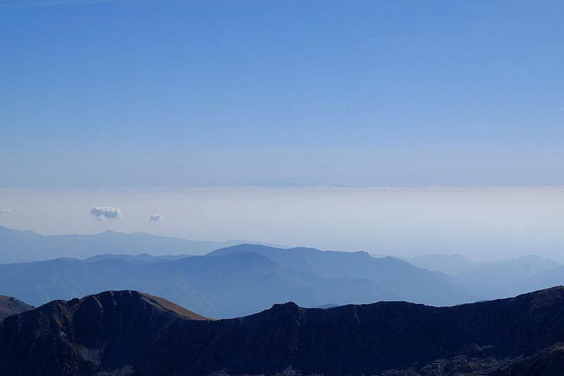 Veduta verso il mare e la Corsica