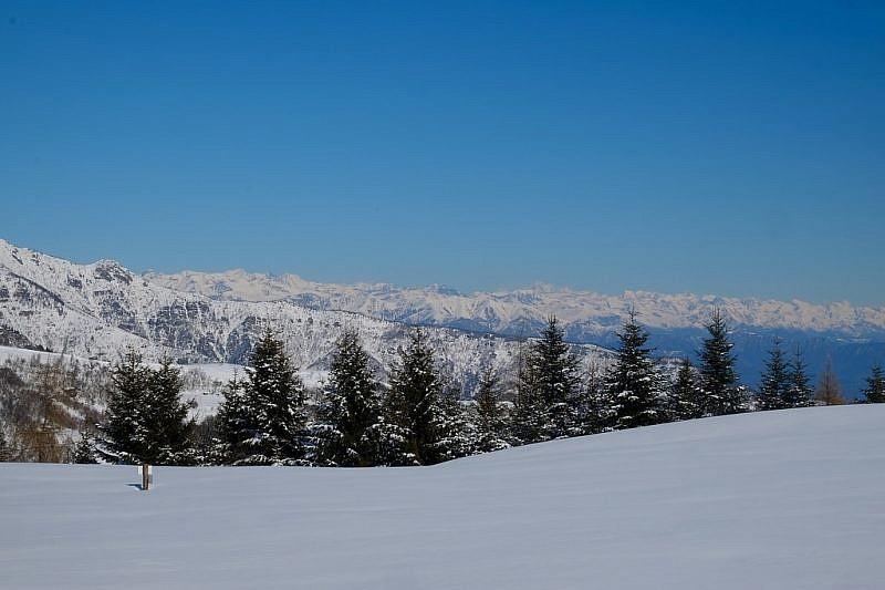 Panorama dal colle di Gilba