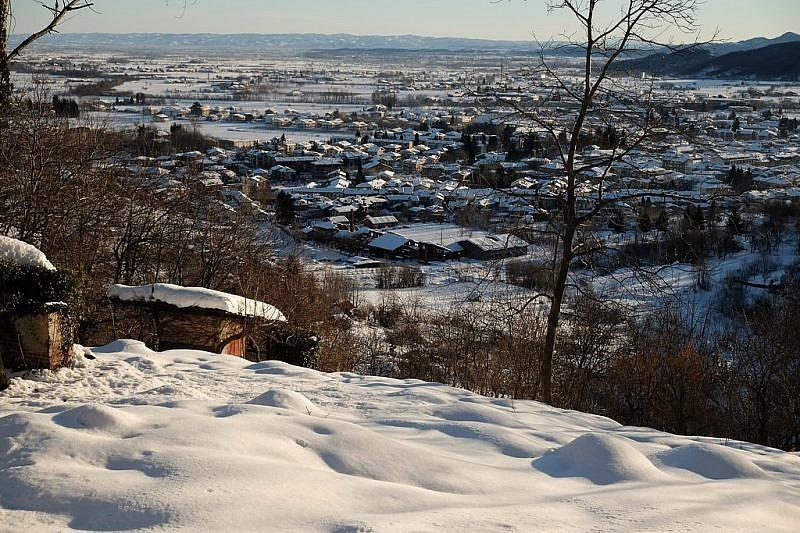Panorama dalle colline di Boves