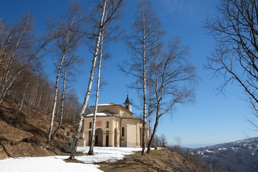 Il santuario di Madonna della Betulla