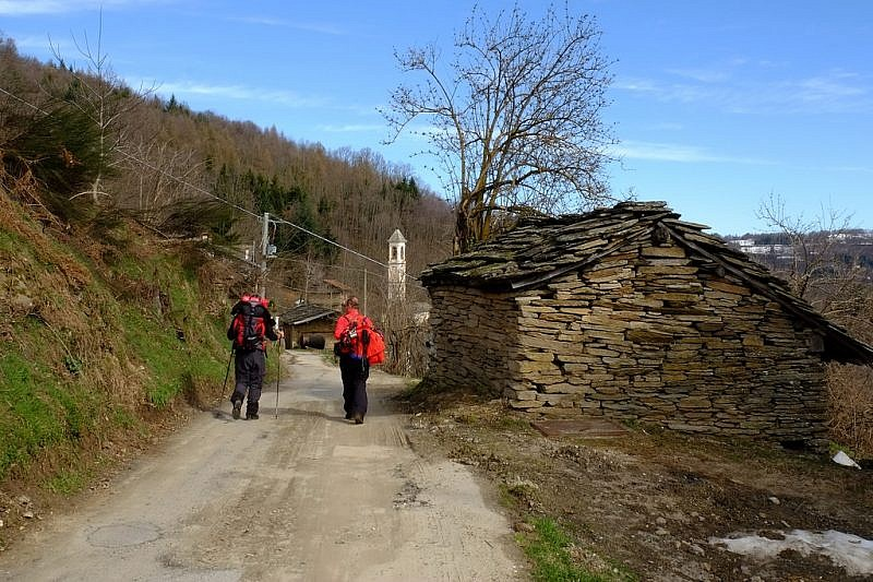 Al ritorno, nei pressi della borgata di Sant'Eusebio