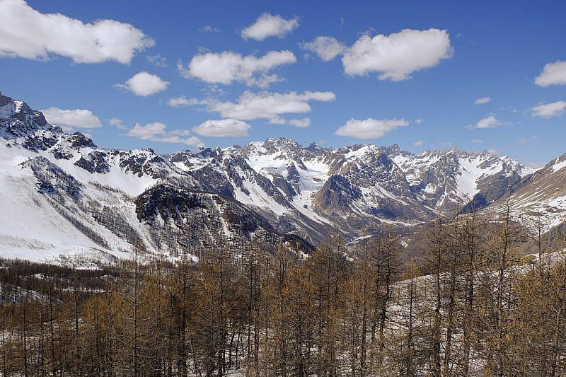 Cime della testata della Val Maira