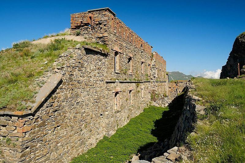 Arrivo al Forte Tabourde