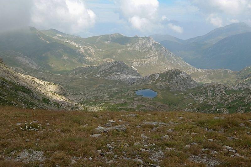 Lago di Ratavuloira, salendo verso la cima