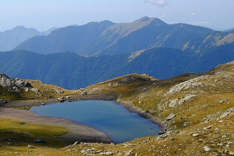 Lago Jugale nell'avvallamento inferiore