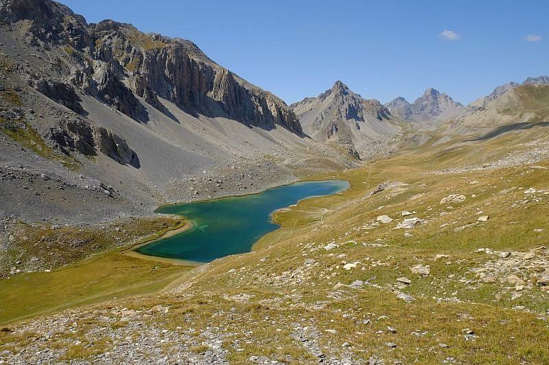Il lago Oronaye