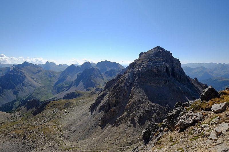 Il monte Scaletta visto dal colle Vanclava